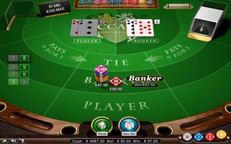 Nên chọn cửa Banker khi chơi Baccarat