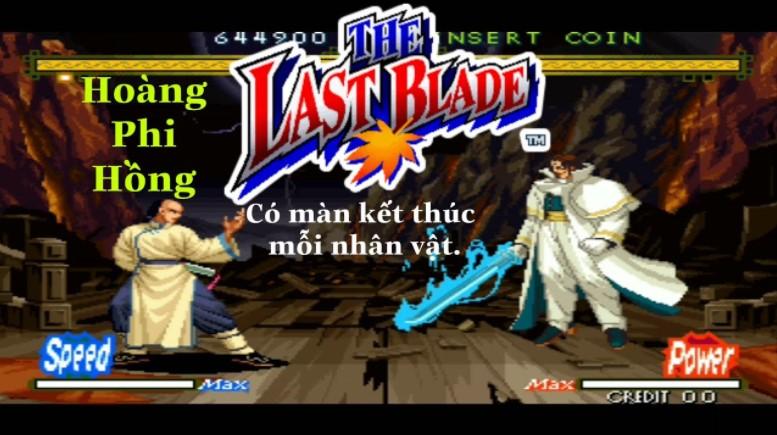 Game Hoàng Phi Hồng phiên bản 2D.